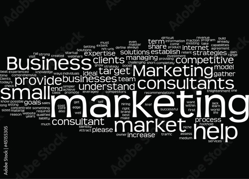 Small Business Marketing Concept