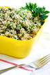 Zielone tabbouleh z kuskusu Refreshing tabbouleh with couscous