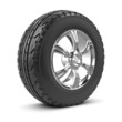 3d Car wheel and tyre
