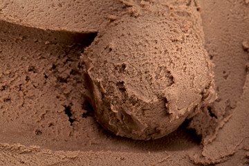 creamy chocolate ice cream