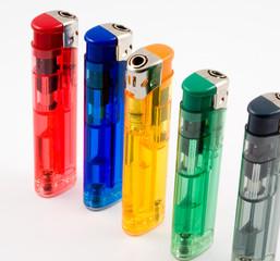plastic lighters