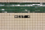 West 4th Station Sign