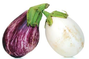 Duo d'aubergines