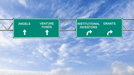 Road sign to investors