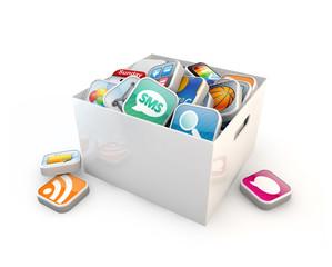 application software storage