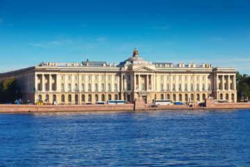 View of St. Petersburg. Academy of Arts
