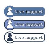 "Website Element: ""Live Support"""