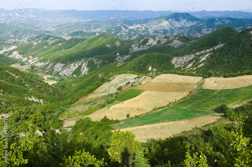 Albanian Landscape Of Highlands © ollirg