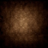 Fototapety old grunge background texture with wallpaper pattern
