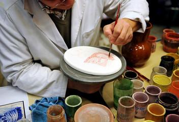 Pintor de cerámica, alfarero
