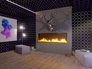 Modernes Wohnen 3D