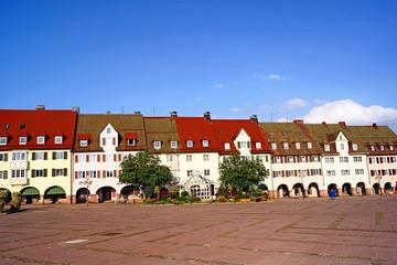 FREUDENSTADT mit Deutschland größten Marktplatz