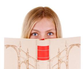 Junges Mädchen – Leseratte