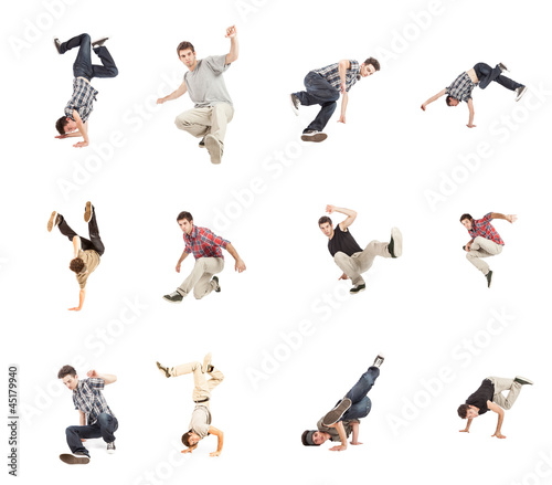Breakdance Collage