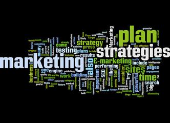 E-Marketing planning Concept