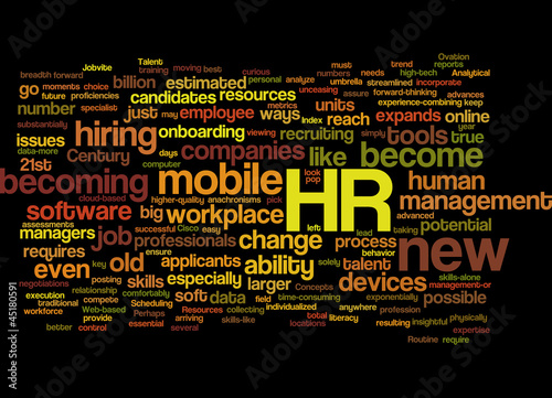 HR Technology Concept