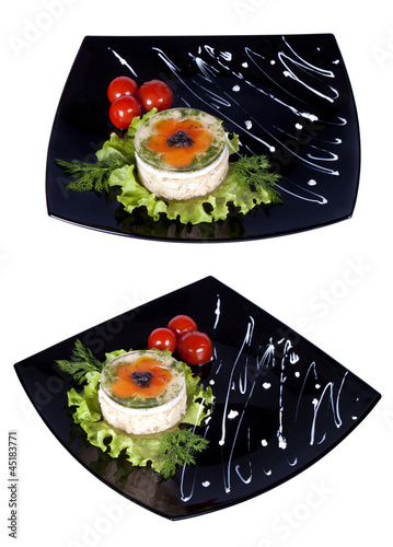 Aspic from chicken meat