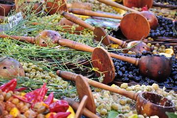 Grand choix d'olives