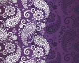 Fototapety paisley floral pattern, textile , Rajasthan, royal India