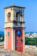 English tower Inside old fortress, Kerkyra, Corfu island, Greece