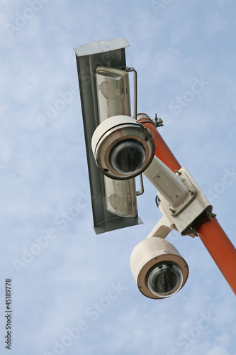 double camera video surveillance and security