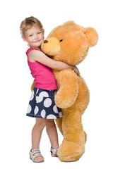 I love you, Teddy bear!