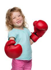 boxing girl