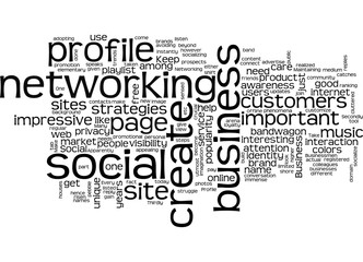Social networking trend concept