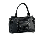 Beautiful woman bag made of genuine leather usolated poster