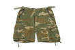 Shorts with military pattern