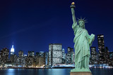 Manhattan Skyline and The Statue of Liberty - 45192738