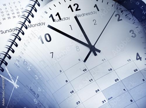 canvas print picture Time management