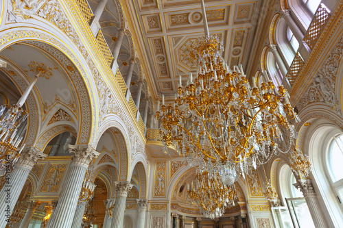 Leinwandbild Motiv Interior of Winter Palace