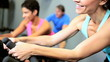 Members Fitness Club Exercising
