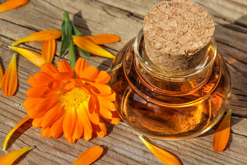 Wellness with calendula, Ringelblume