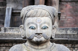 Historical sculptures of buddha