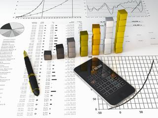 Wirtschaft Statistik Business 10