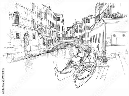 Ponte del Mondo Novo, Campo S.Maria Formosa. Venice, Italy © Uladzimir