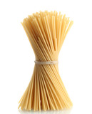 Fototapety Bunch of spaghetti, isolated on white
