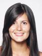 Retrato de una joven mujer latina.