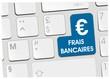 clavier frais bancaires