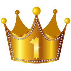 クラウン 王冠 ダイヤモンド 金