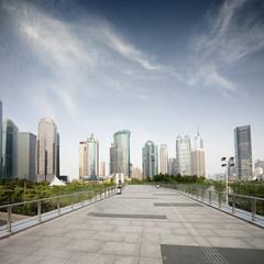 cityscape of modern city,shanghai