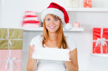 weihnachtlicher hinweis