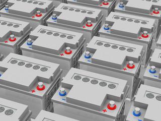 Die Autobatterien