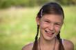 Portrait eines lachenden Mädchens