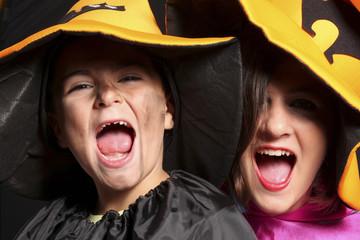 bambini vestiti per halloween