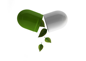 pilule feuilles
