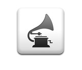 Boton cuadrado blanco gramofono
