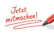 Stift- & Schriftserie: Jetzt mitmachen! rot
